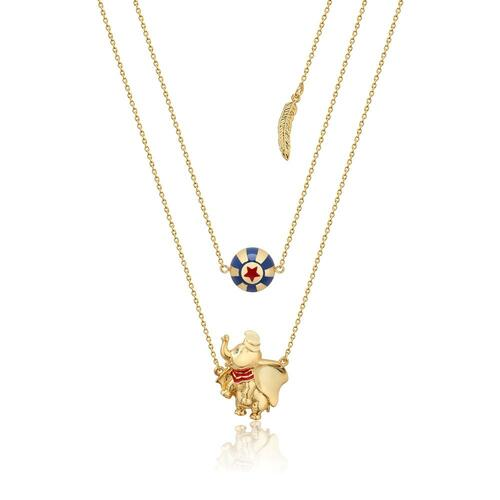 Disney Couture Kingdom - Dumbo - Circus Ball Necklace Yellow Gold