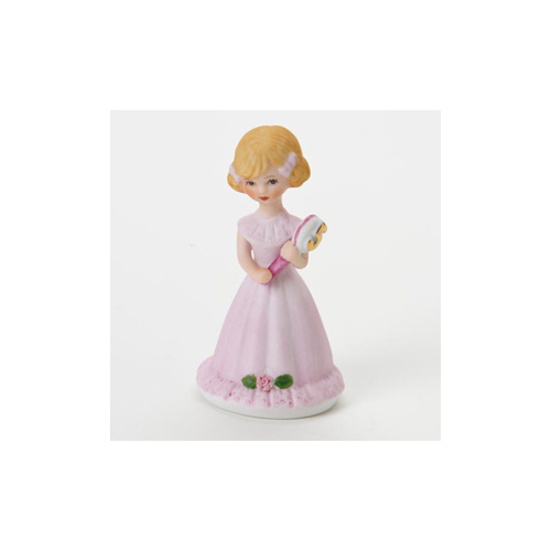 Growing Up Girls - Blonde Age 5 Cake Topper