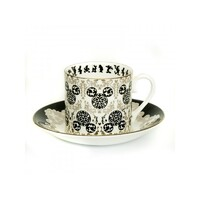 English Ladies Mickey Mouse Vintage - Cup And Saucer - Tea Set