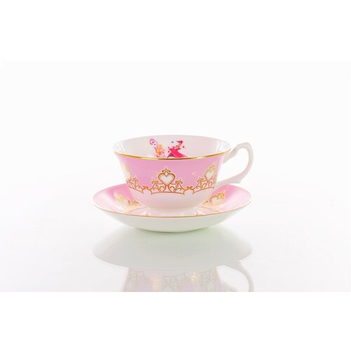 English Ladies Sleeping Beauty - Aurora - Cup And Saucer - Tea Set
