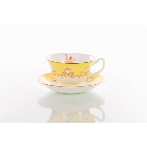 English Ladies Beauty And The Beast - Belle - Cup And Saucer - Tea Set