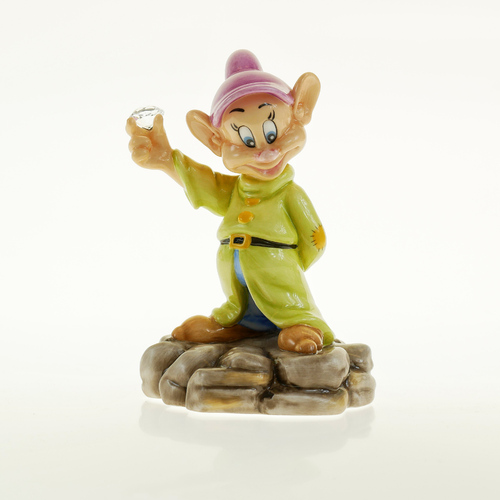 English Ladies Snow White and the Seven Dwarfs - Diamond Mine Dopey Figurine