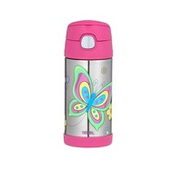 Thermos Funtainer Drink Bottle 355ml Butterfly