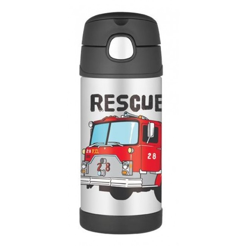 Thermos Funtainer Drink Bottle 355ml Fire Truck