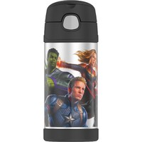 Thermos Funtainer Drink Bottle 355ml Marvel Avengers Endgame