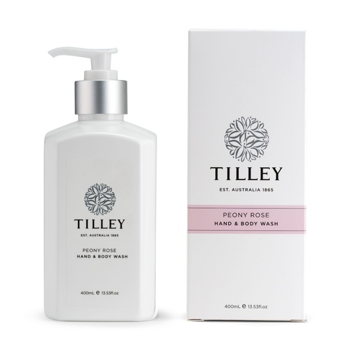 Tilley Body Wash - Peony Rose 400ML