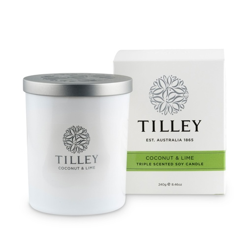 Tilley Candle - Coconut & Lime
