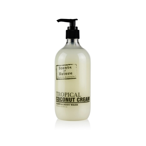 Scents of Nature by Tilley Hand & Body Wash - Tropical Coconut Cream