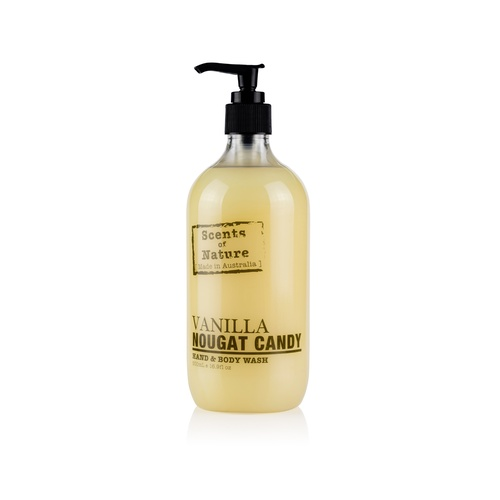 Scents of Nature by Tilley Hand & Body Wash - Vanilla Nougat Candy