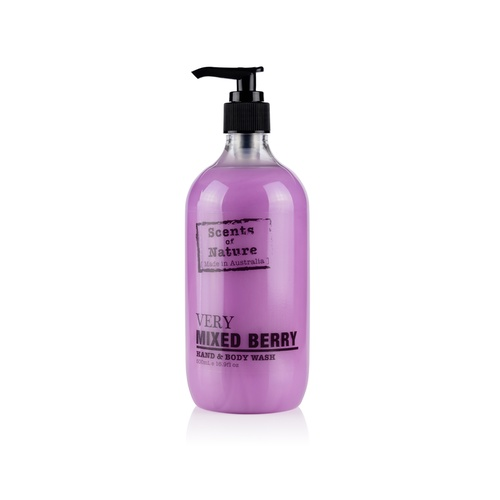 Scents of Nature by Tilley Hand & Body Wash - Very Mixed Berry
