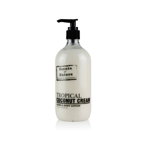 Scents of Nature by Tilley Body Lotion - Tropical Coconut Cream