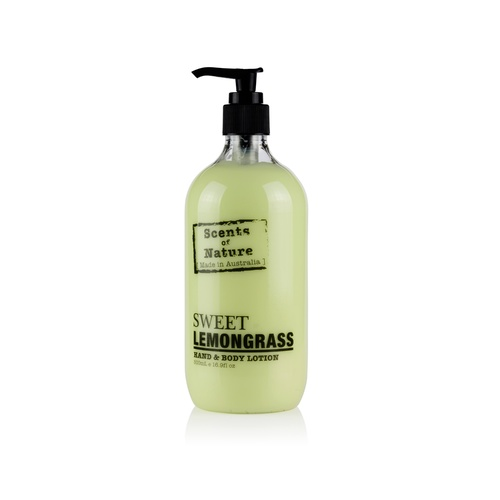 Scents of Nature by Tilley Body Lotion - Sweet Lemongrass