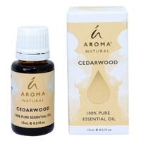 Aroma Natural by Tilley - Cedarwood 15ml 100% Essential Oil