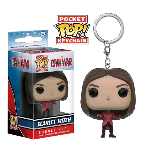 Pop! Vinyl Keychain - Captain America 3: Civil War - Scarlet Witch