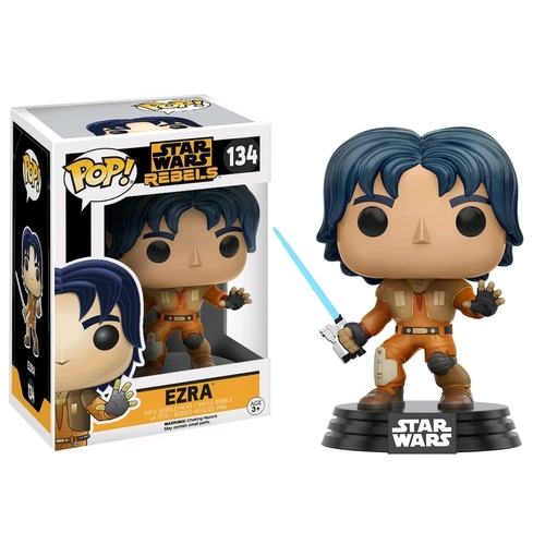 Pop! Vinyl - Star Wars: Rebels - Ezra Bobble-Head