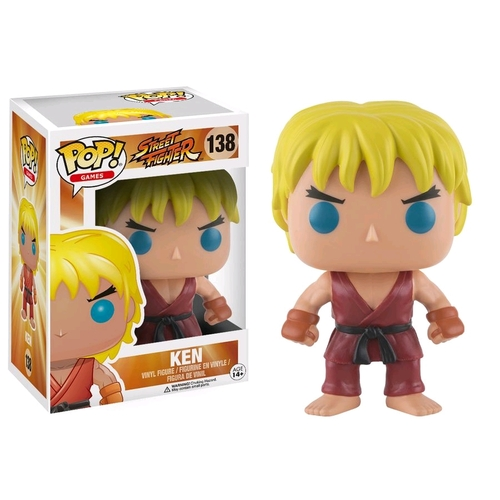 Pop! Vinyl - Street Fighter - Ken