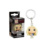 Pop! Vinyl Keychain - Stranger Things - Eleven with Wig