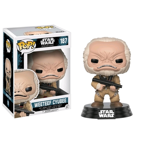 Pop! Vinyl - Star Wars: Rogue One - Weeteef Cyubee Bobble-Head