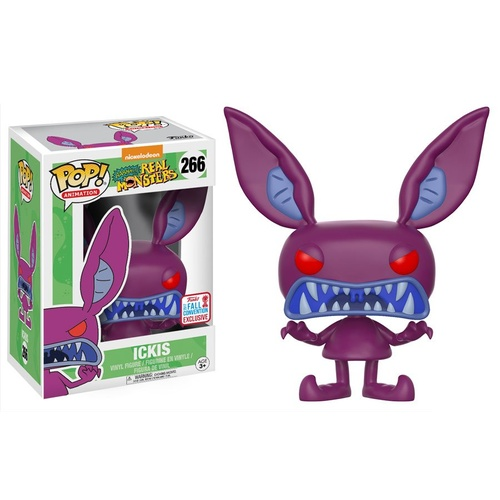 Pop! Vinyl - Nickelodeon Aaahh!!! Real Monsters - Ickis Scare NYCC 2017 US Exclusive