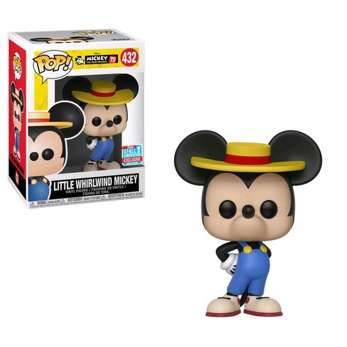Pop! Vinyl - Disney Mickey Mouse - 90th Anniversary Little Whirlwind Mickey NYCC 2018 Exclusive