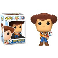 Pop! Vinyl - Disney/Pixar Toy Story 4 - Sheriff Woody with Forky US Exclusive