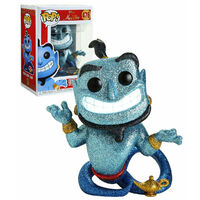 Pop! Vinyl - Disney Aladdin - Genie with Lamp Diamond Glitter US Exclusive