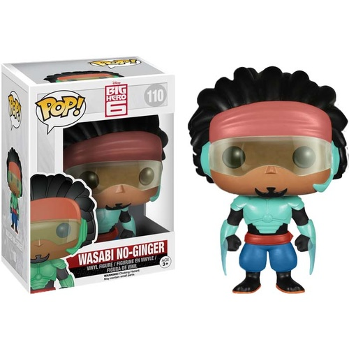 Pop! Vinyl - Big Hero 6 - Wasabi No-Ginger