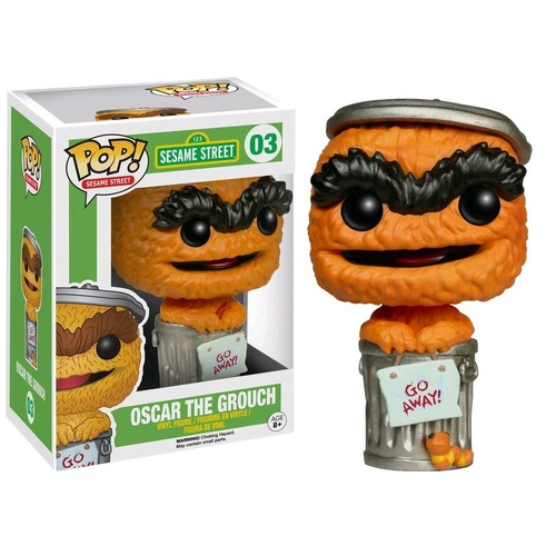 Pop! Vinyl - Sesame Street - Oscar the Grouch Orange US Exclusive