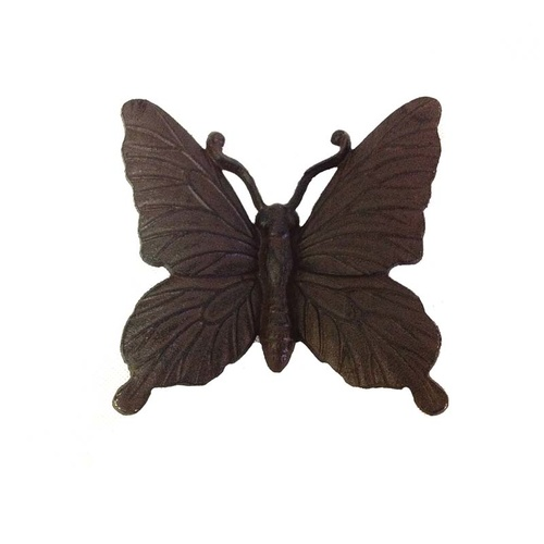 Cast iron decorative butterfly - Large
