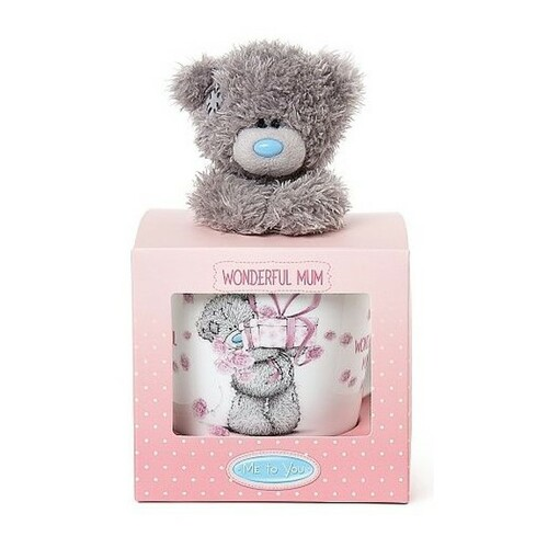 Tatty Teddy Me to You Gift Set - Wonderful Mum Mug & Bear
