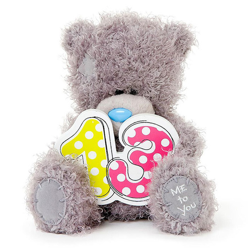 Tatty Teddy 13th Birthday Me to You Bear