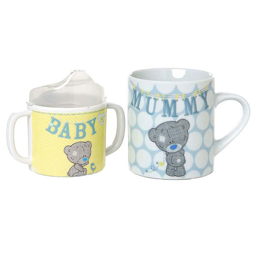Tiny Tatty Teddy Mum & Baby Me to You Bear Mug Set