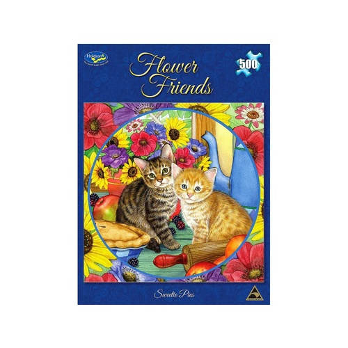 Holdson Flower Friends Sweetie Pies Puzzle 500 Pieces