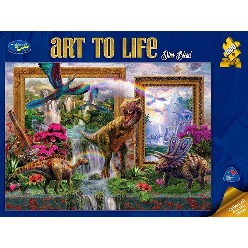 Holdson Art To Life Dino Blend Puzzle 1000 Pieces