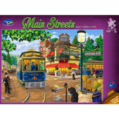 Holdson Main Streets Mary's General Store Puzzle 1000 Pieces