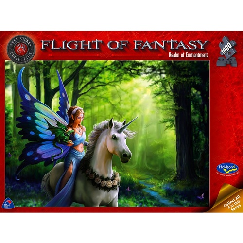 Holdson Puzzle 1000pc - Flight of Fantasy - Realm of Enchantment