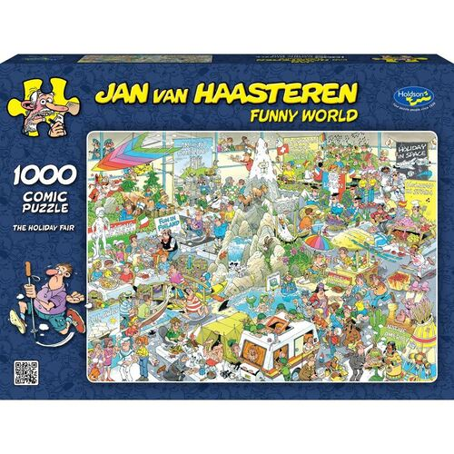 Jan Van Haasteren Puzzle 1000pc - The Holiday Fair
