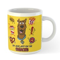 Scooby Doo Mug - I'm Here Just For The Snacks