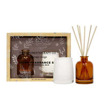 The Aromatherapy Co Therapy Home Fragrance Gift Set - Sandalwood & Cedar