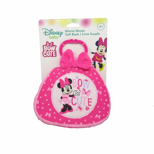 Disney Baby Mini Mouse Bow Cute -  Soft Book