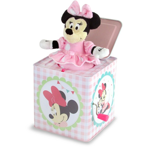 Disney Baby Jack in the box - Minnie Mouse