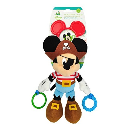 Disney Baby Attachable Toy - Mickey Mouse Pirate