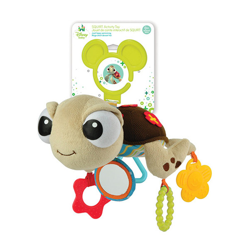 Disney Baby Attachable Toy - Finding Nemo - Squirt