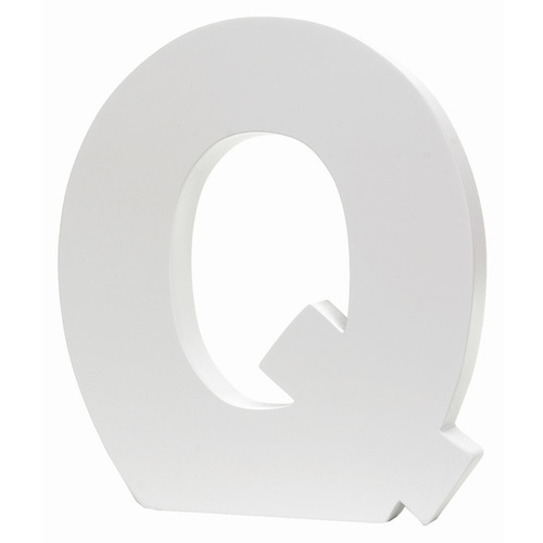 Splosh Large Decorative Letter - Q
