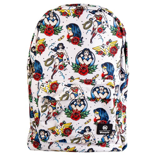Loungefly DC Wonder Woman - Tattoo Print Backpack