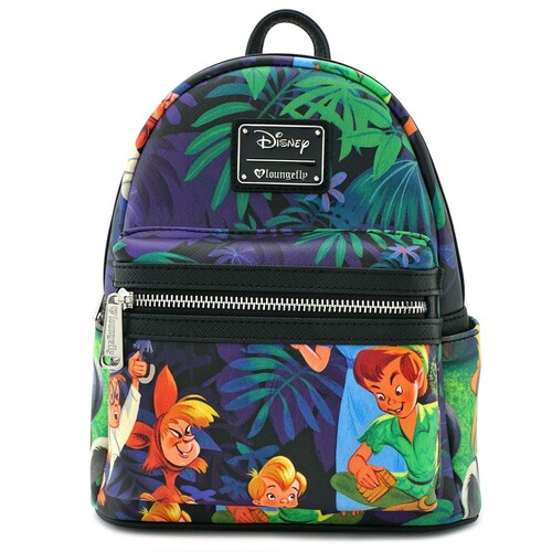 Loungefly Disney Peter Pan - Print Mini Backpack