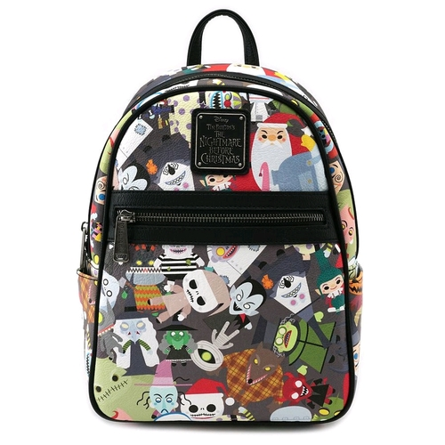 Loungefly Disney The Nightmare Before Christmas - Chibi Mini Backpack