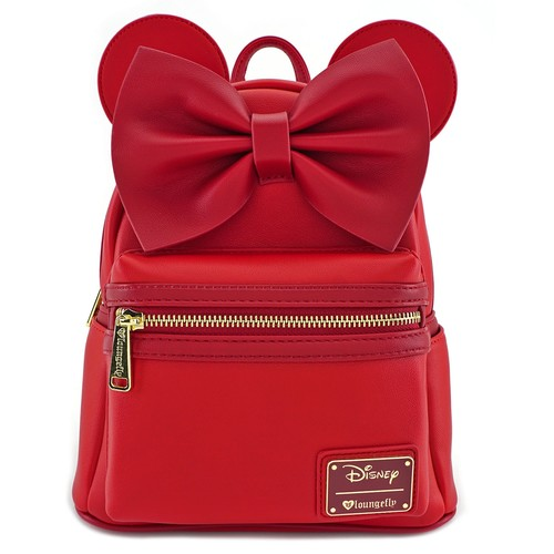 Loungefly Disney Minnie Mouse - Minnie Red Ears and Bow Mini Backpack