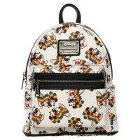 Loungefly Disney Mickey Mouse - Mickey Rainbow Print Mini Backpack