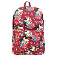 Loungefly Disney Mulan - Mulan With Fan Print Backpack